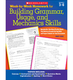 Week-by-Week Homework for Building Grammar, Usage and Mechanics Skills