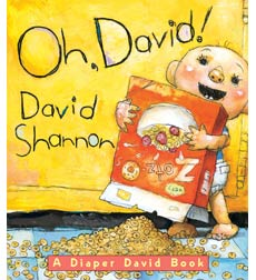 Diaper David Board Books: Oh, David!