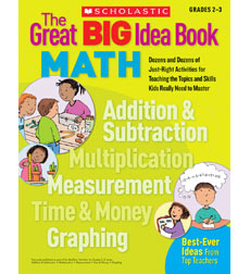 The Great BIG Idea Book: Math