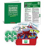 Guided Reading Text Types: Grade Kindergarten Levels, A–D