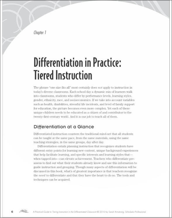 A Practical Guide To Tiering Instruction In The Differentiated