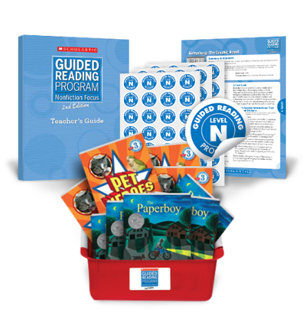 Guided Reading Nonfiction Focus 2nd Edition Level N