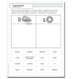 Y siguió lloviendo - Activity Sheet