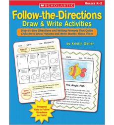 Follow–the–Directions Draw & Write Activities
