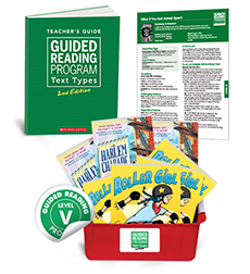 Guided Reading Text Types: Level V
