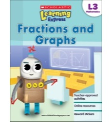 Image of Scholastic Learning Express Level 3: Fractions and Graphs
