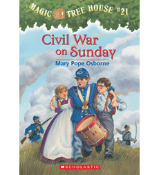 Magic Tree House: #21 Civil War on Sunday