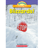 Science Vocabulary Readers: Blizzards!