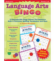 Language Arts Bingo 9780545275521