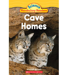 Science Vocabulary Readers: Cave Homes