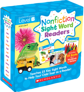 Nonfiction Sight Word Readers Parent Pack Level B 9780545842822