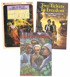 Scholastic Trio Individual Theme Unit Set 5, Social Studies - Escape to Freedom, Grades 5-6