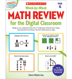 Week-by-Week Math Review for the Digital Classroom: Grade 4