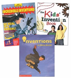 Scholastic Trio Individual Theme Unit Set 4, Science - Inventions, Grades 4-5
