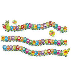 100th-Day Doodle Bugs Bulletin Board