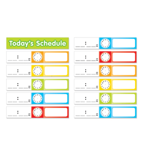 Schedule Cards Pocket Chart Add-ons