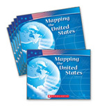 Guided Reading Set: Level F – Mapping the United States