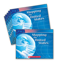 Guided Reading Set: Level F - Mapping the United States
