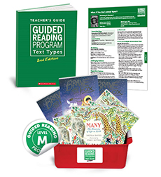 Guided Reading Text Types: Level M