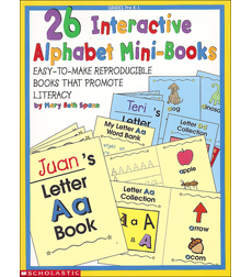 26 Interactive Alphabet Mini-Books