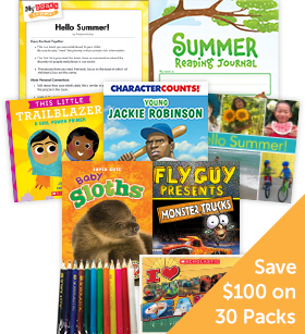 My Books Summer Grade 1 Nonfiction - Classroom Set