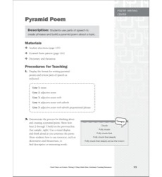 Pyramid Poem: Poetry Learning Center