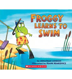 Froggy Books: Froggy Learns to Swim