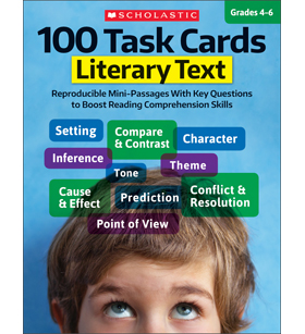 100 Task Cards: Literary Text