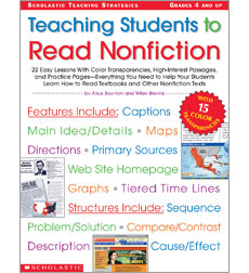 Teaching Students to Read Nonfiction: Grades 4 and Up