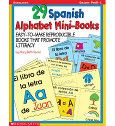 29 Spanish Alphabet Mini-Books