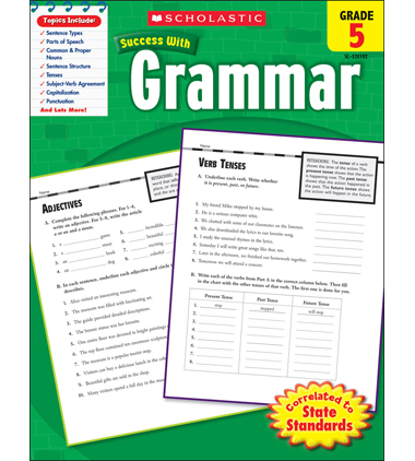 Scholastic Success With Grammar: Grade 5