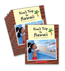 Guided Reading Set: Level E - Kim's Trip to Hawaii