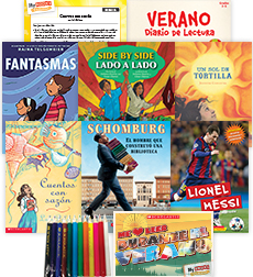 My Books Summer Spanish Grade 5 Fiction-Nonfiction Pack