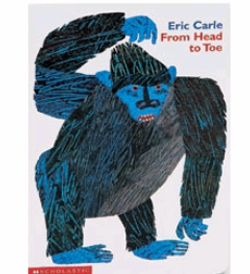 Eric Carle Board Books: From Head to Toe