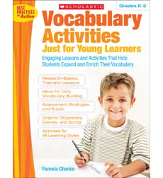 Vocabulary Activities Just for Young Learners 9780545045926