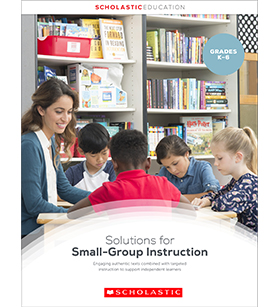 Small Group Instruction Guided Reading Brochure 2019