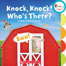Knock, Knock! Who's There?: A Book of Animal Sounds