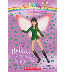 Rainbow Magic-The Sports Fairies: Helena the Horse-riding Fairy