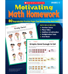 Motivating Math Homework Grades 2-3