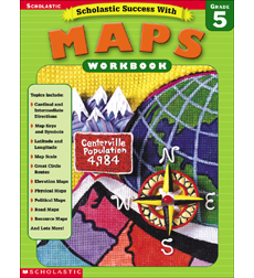 Scholastic Success With Maps (Grade 5)