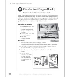 Graduated-Pages Book: Social Studies Bookmaking Project