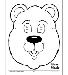 Bear Mask: Costume Pattern