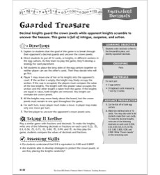 Decimals: Equivalent Decimals (Guarded Treasure)