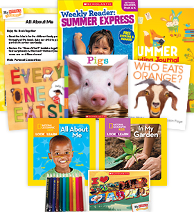 My Books Summer & Summer Express Workbook Grade PreK Nonfiction Pack