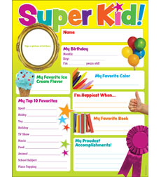 Super Kid of the Week Chart