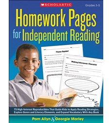 Homework Pages for Independent Reading