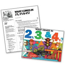 What Comes In 2's, 3's and 4's? – Literacy Fun Pack Express