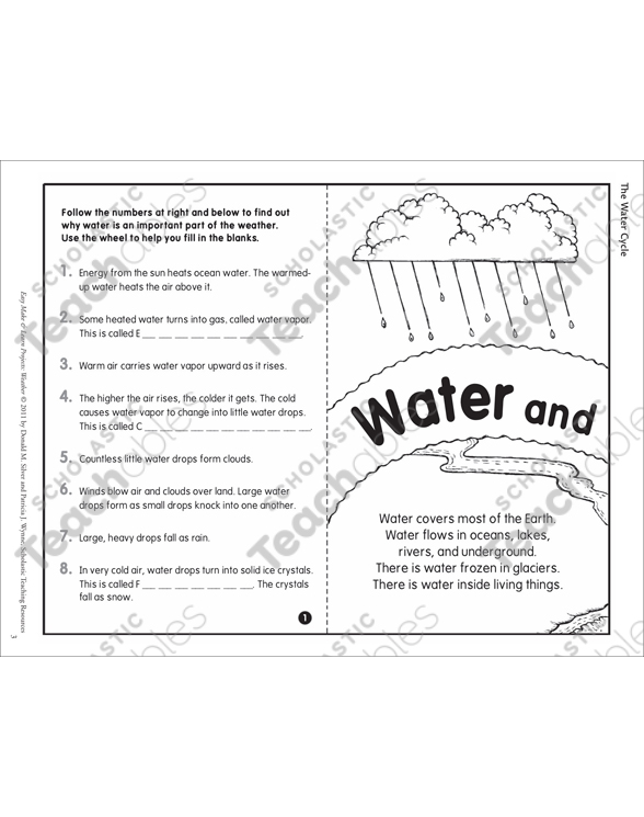The water cycle easy make learn projects weather by the water cycle easy make learn projects weather ccuart Images