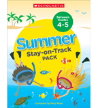 Summer Stay-on-Track Pack Between Grades 4 and 5