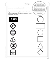 I Read Signs - Activity Sheet